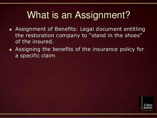 Image assignment of benefits cohen battisti attorneys at law orlando florida attorney insurance claims disputes